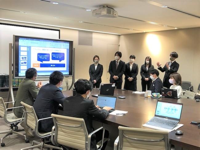 ②:ビジネスプランのプレゼンテーションの様子(1)_浦野 寛子